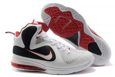 Cheap Nike Lebron 9 Shoes White Red Black, cheap Nike Lebron 9 Mens, If you  want to look Cheap Nike Lebron 9 Shoes White Red Black, you can view the  Nike ...