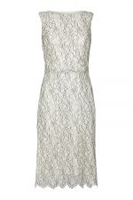 The Sale Room at Ede & Ravenscroft, Madeleine Hamilton   Alternate shots   PADDY CAMPBELL T45 LACE CREAM A-LINE DRESS
