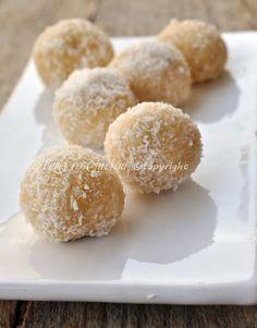 Tartufini alla vaniglia con wafer ricetta veloce