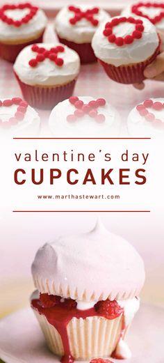 Valentine's Day Cupcakes | Martha Stewart Living