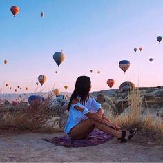 Cappadocia, Turkey is my – Cappadocia Travel - Best Travel Photos Adventure Awaits, Adventure Travel, Oh The Places You'll Go, Places To Travel, Blog Voyage, Adventure Is Out There, Travel Goals, Travel Photos, Travel Inspiration
