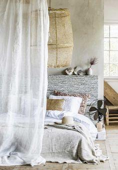 gorgeous beachy boho bedroom ♥