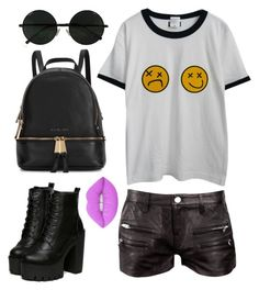 """Smells like teen spirit"" by amandacava on Polyvore featuring IRO, Chicnova Fashion, Michael Kors and Lime Crime"