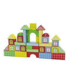 Look what I found on #zulily! Fantasy City Block Set by DIY KIDS #zulilyfinds