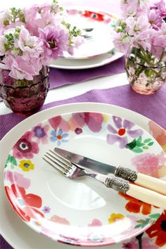 flower table ware