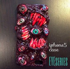 Thriller EYE iPhone Case  iPhone 4 iPhone 5/5s  Made by EyesEyes, €49.90