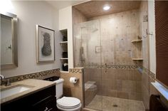 Contemporary (Modern, Retro) Bathroom by Allison Jaffe