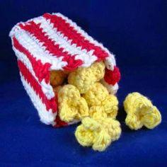 Crochet popcorn ♡