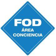 FOD Área Conciencia (FOD Awareness Area) - Type B  Floor Sign