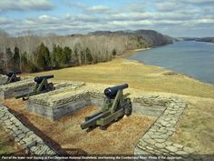 Did you know that Tennessee had such an extensive role in the Civil War, the entire state is a national heritage area? Shown here: Fort Donelson National Military Park.