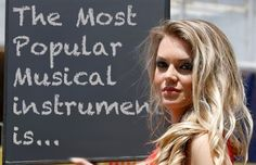 The Most Popular Musical Instruments Most Popular, Musical Instruments, Musicals, Blog, Music Instruments, Blogging, Instruments, Musical Theatre, Popular