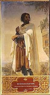 Grand Vizier and noble founder of the Order of the Knights Templar Hugh De Payens or Hugh Of The Pagans.