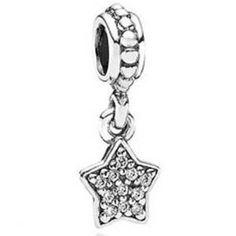 Pandora Damen-Charm 925 Sterling Silber 791024CZ: Pandora: Amazon.de: Schmuck