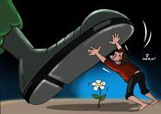 كاريكاتير - أمية جحا (فلسطين)  يوم الخميس 18 ديسمبر 2014  ComicArabia.com  #كاريكاتير