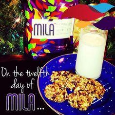 Oatmeal Mila cookies