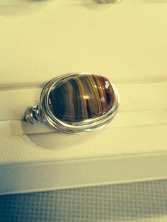 Ceramic bead wrap ring