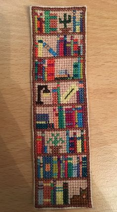 Bookcase bookmark!