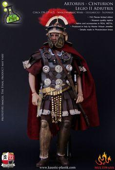 toyhaven: Preview Kaustic Plastik 1/6 scale Roman Centurion Artorius Lucius Castus 12-inch figure