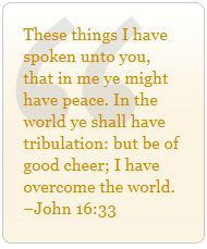 July 6, 2013  |  The Peace of Jesus ~ Deep down I feel Your peace, Lord Jesus, and the storms of my life are abated.