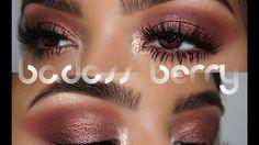 Badass Berry || Tarte Pro Palette - YouTube