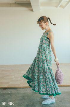 Women's Fashion, Flower, Beauty, Color, Dresses, Dressmaking, Manualidades, Vestidos
