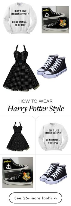 on Polyvore featuring Converse