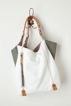 Corner Color Tote by orYANY. just not a very practical color...