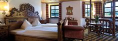 The pulse of the centuries-old castle brought back from the past  http://www.schlosshotel-rosenegg.com/index.php/rooms.html
