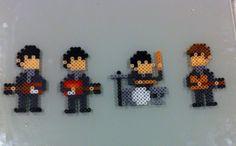 the Beatles Perler Beads