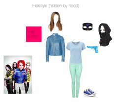 """""""MCR OC- Killjoy Outfit~ Electric Heart"""" by mackenzie-lynn-ann-lilly ❤ liked on Polyvore featuring John Lewis, Masquerade, Converse and Jil Sander"""