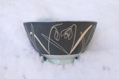 Coming soon......or already here depending on which part of the country you're in! . #ceramics #stoneware #sgraffito #snowdrops #bowl #tableware #handmade #handdrawn #interiors #decorative #shopsmall #cremerging