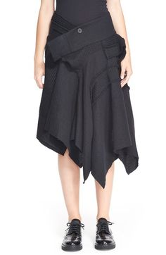 Y's by Yohji Yamamoto Patchwork Skirt available at #Nordstrom