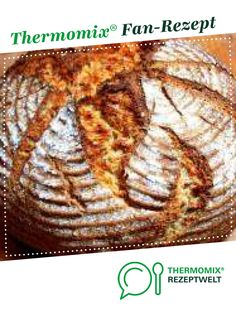 Sourdough bread from luschille. A Thermomix ® recipe from the Bread & Buns category www.de, the Thermomix ® community. Healthy Juice Recipes, Juicer Recipes, Healthy Juices, Meat Recipes, Brunch Recipes, Cooking Recipes, Budget Freezer Meals, Cooking On A Budget, Frugal Meals