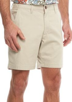 Red Camel Stone 7-in Stretch Flat Front Shorts