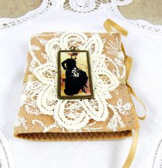 Victorian Needle Book Sewing Embroidery by GaffneyGirlStudio