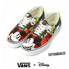 I just discovered this while shopping on Poshmark: Disney X Vans Era Mickey & Friends MT. Check it out! Price: $60 Size: 10