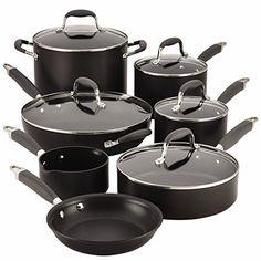 Anolon Advanced 12 Piece Nonstick Cookware Set -- Visit the image link more details. (Amazon affiliate link)