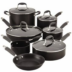 Anolon Advanced 12 Piece Nonstick Cookware Set -- Visit the image link more details. (Amazon affiliate link)