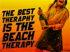 I want Beach therapy!!!