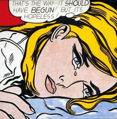 Roy Lichtenstein - Hopeless