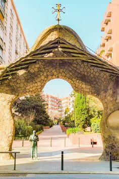 Gaudi Barcelona, Gazebo, Travel Destinations, Tourism, Places To Visit, Coast, Around The Worlds, Europe, Outdoor Structures