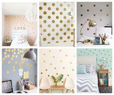 Bedroom Wall, Girls Bedroom, Mural Painting, Home Office, Sweet Home, Shelves, House Design, Rose Gold, Inspiration