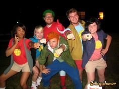 Captain Planet and the Planeteers. I REALLy REALLY want to do this ahahah