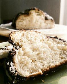 Αφράτο τσουρέκι γεμάτο ίνες με γλάσο σοκολάτας! Banana Bread, Pie, Desserts, Food, Torte, Tailgate Desserts, Cake, Deserts, Fruit Flan