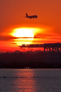 Sunset over Conley Terminal http://1502983.talkfusion.com/product/