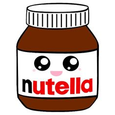 Better Drawing Nutella- better than crack by killercute - Kawaii Girl Drawings, Cute Food Drawings, Cute Animal Drawings, Cartoon Drawings, Kawaii Disney, Food Kawaii, Griffonnages Kawaii, Doodles Kawaii, Cute Doodles