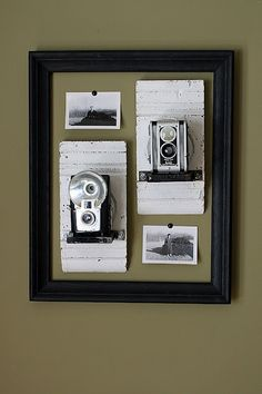 Vintage Camera Display