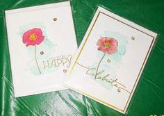 Cards from Kathy B - SU www.crazystampinglady.blogspot.com Maureen Rauchfuss