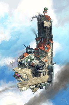Airborn - Marketfort by acapulc0.deviantart.com