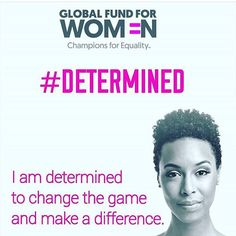 Here's champion for equality & singer/songwriter/STEM advocate Carolyn Malachi's inspiring #IAmDetermined selfie! Take your own for #GivingTuesday! Every selfie = $1 #regram via @carolynmalachi